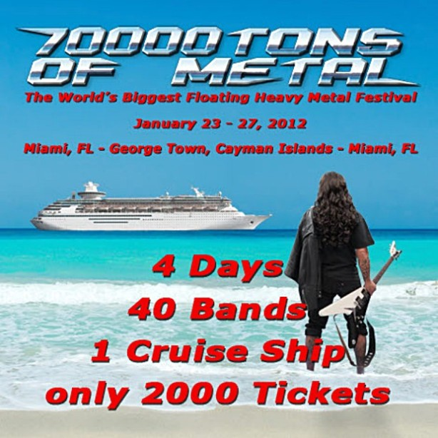 70000TONS OF METAL - Annihilator - Deadwebzine
