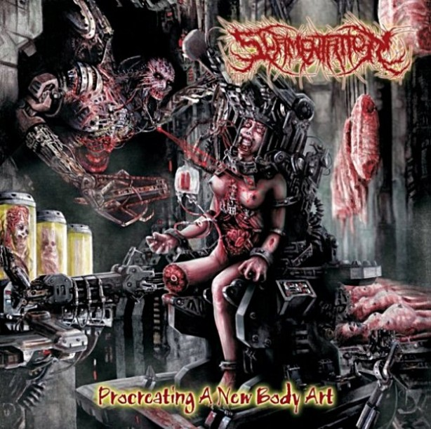Slamentation - Procreating A New Body Art EP 2011, Switzerland, Brutal Death Metal, Sevared Records