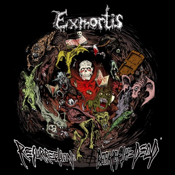 EXMORTIS Resurrection... Book of the Dead MCD Release date: 20.12.2011
